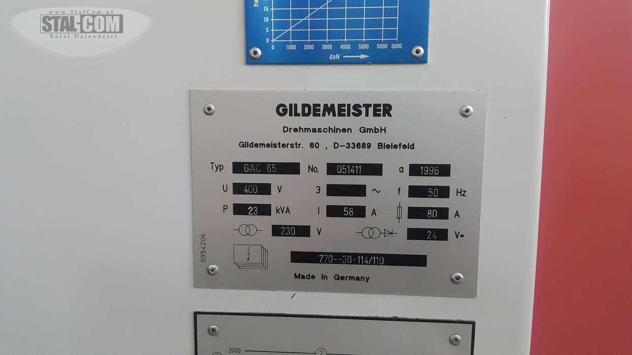 Gildemeister GAC 65